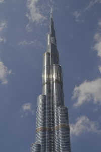 The top 2/3 of the Burj Khalifa (Dubai, UAE)