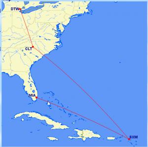 Trip 2a. 3,335 miles.