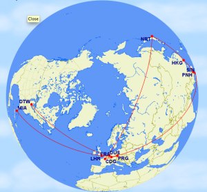 Trip 2b. 24,662 miles.