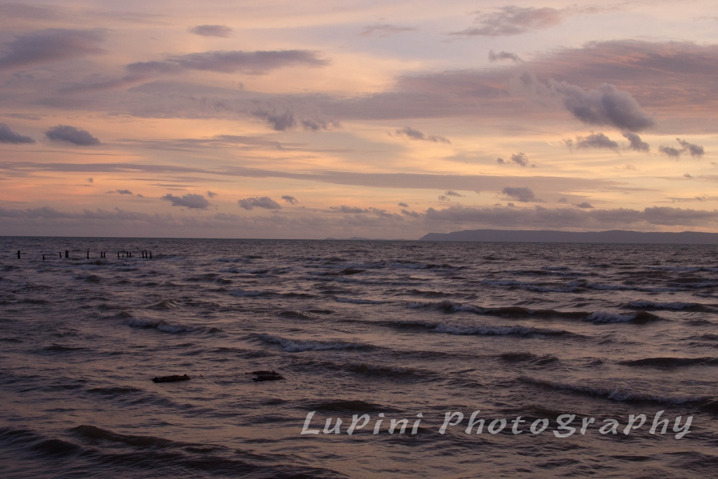 Sunset in Kep, Cambodia