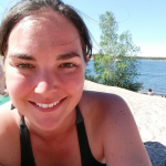 At the Beach, Yellowknife NWT