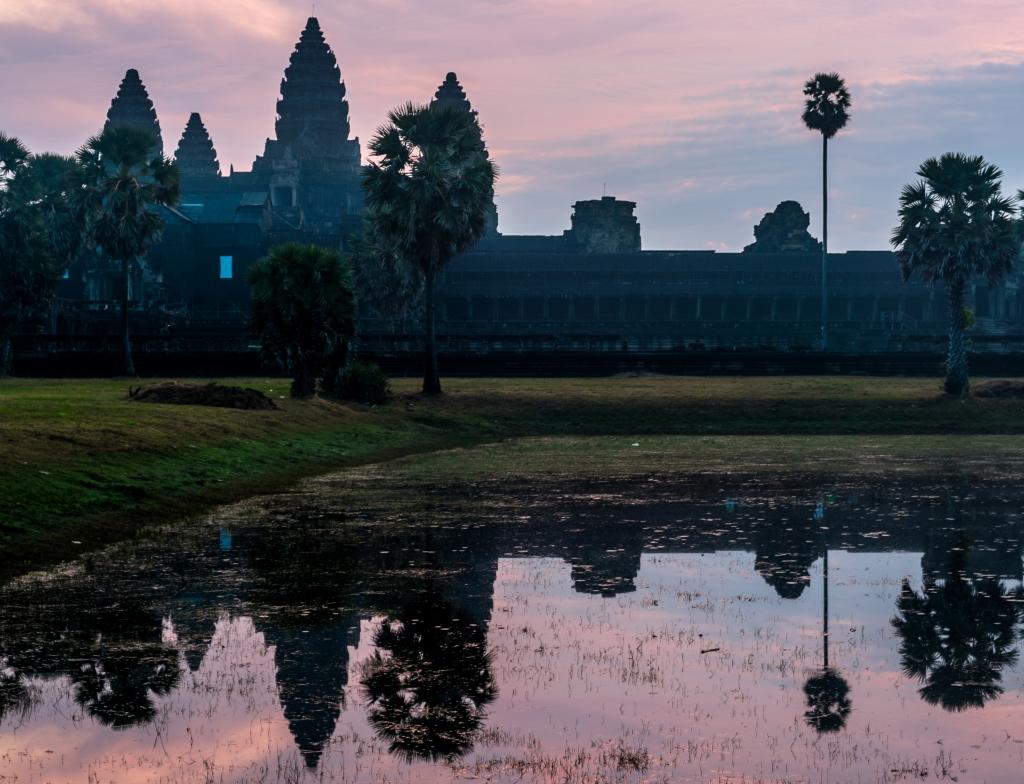 Angkor Wat, Cambodia January 2015