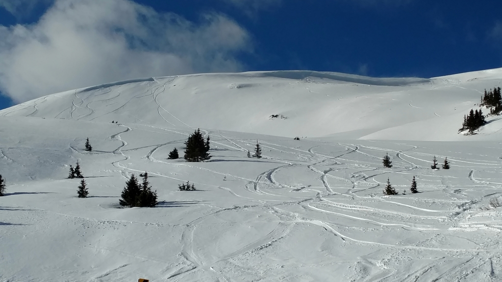 Loveland Pass Powder Day