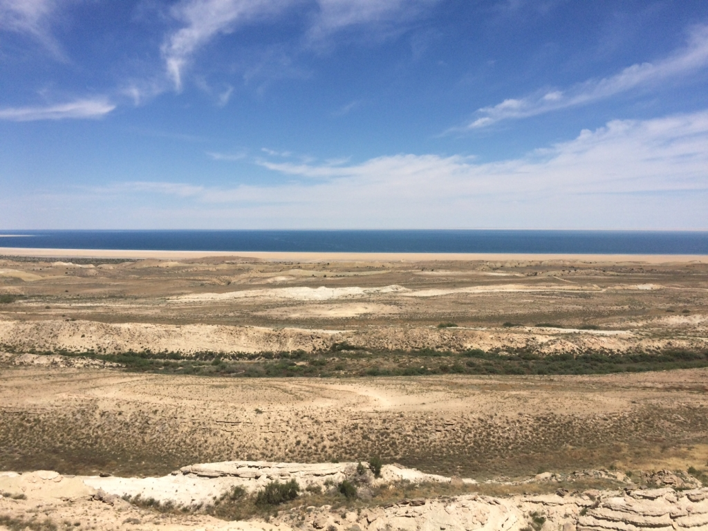 A first view of the Aral Sea
