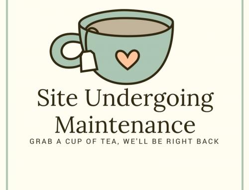 Site Undergoing Maintenance This Weekend